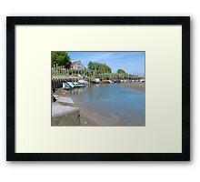 Blakeney Quay North Norfolk Framed Print