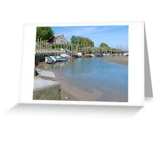 Blakeney Quay North Norfolk Greeting Card