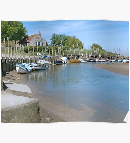 Blakeney Quay North Norfolk Poster