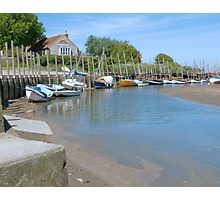 Blakeney Quay North Norfolk Photographic Print