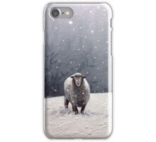 The Solitary sheep iPhone Case/Skin