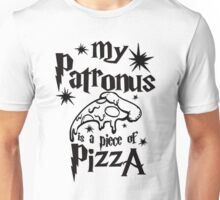 My patronus is a piece of pizza Unisex T-Shirt