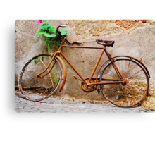 Ready for the tour of Italy? Bicycle, Asolo, Italy Canvas Print