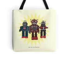 We Are The Robots Tote Bag
