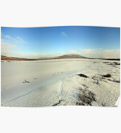 Mullaghmore mountain in winter Poster