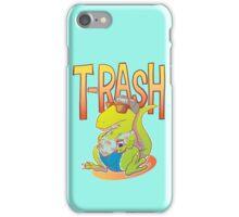 T-Rash in Orange/Blue iPhone Case/Skin