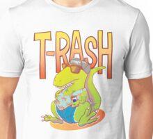 T-Rash in Orange/Blue Unisex T-Shirt