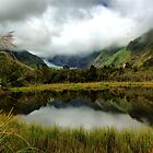 Glacial Lake New Zealand by johngs