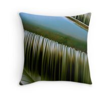 The sound of water Throw Pillow
