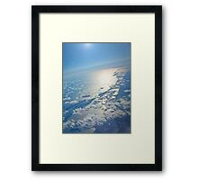 A Beautiful Planet Earth... Sunrise - eastcoast US Framed Print