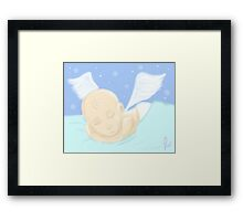 Every moment you are missed Framed Print