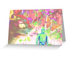 Oh Little Girl Psychotic Reaction Greeting Card