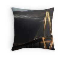 Ravenel Bridge - Charleston, SC Throw Pillow