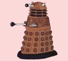 Bronze Dalek. One Piece - Short Sleeve