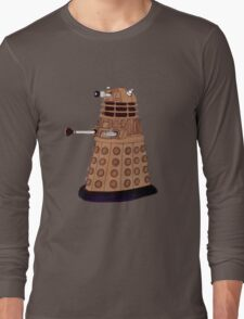 Bronze Dalek. Long Sleeve T-Shirt