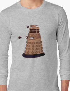 Bronze Dalek. Long Sleeve T-Shirt
