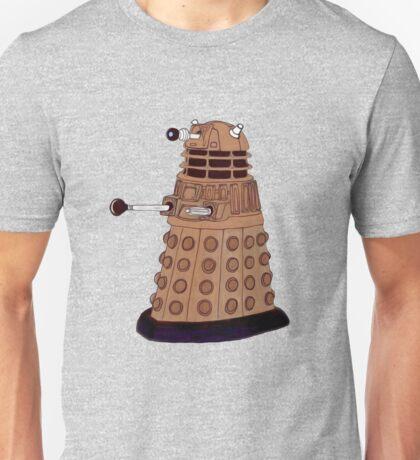 Bronze Dalek. Unisex T-Shirt