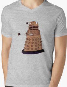 Bronze Dalek. Mens V-Neck T-Shirt