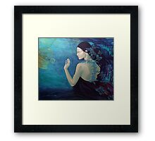 Meandering thoughts - The Butterfly's Way  Framed Print