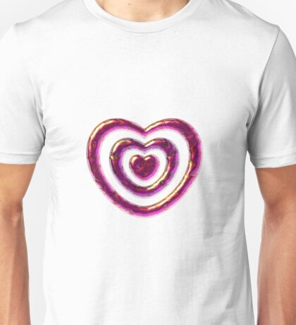 Jewelry Heart Unisex T-Shirt