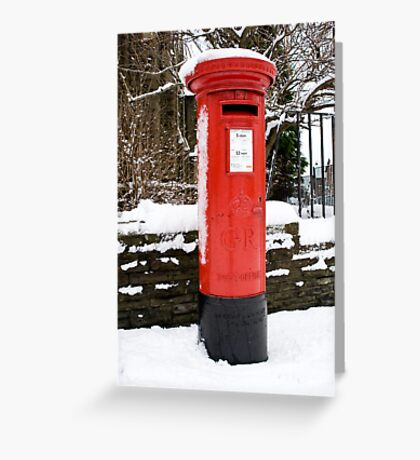 Postbox...a disappearing feature  Greeting Card