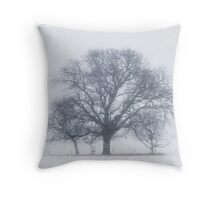 Outlines Throw Pillow