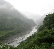 an incredible Taiwan landscape by beautifulscenes