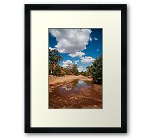 Reflections of the Outback Framed Print