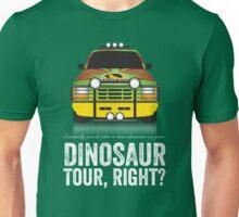Jurassic Park - Jeep Print Unisex T-Shirt