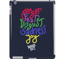 Inside Out characters with the logo! iPad Case/Skin