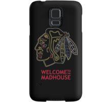 Madhouse Chicago Blackhawks Samsung Galaxy Case/Skin