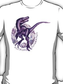 Asexual Alioramus (with text)  T-Shirt