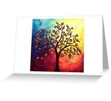 Fruit and Leaves Greeting Card