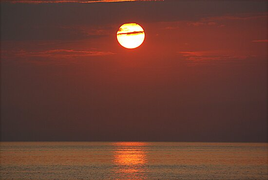 Sunrise over Isola d' Elba by Stefano  De Rosa