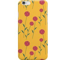 Cookie flower in the garden iPhone Case/Skin