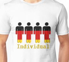 Individuals of Germany  Unisex T-Shirt