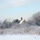 The winter church by littlelamb