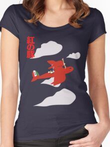 Porco Rosso Women's Fitted Scoop T-Shirt