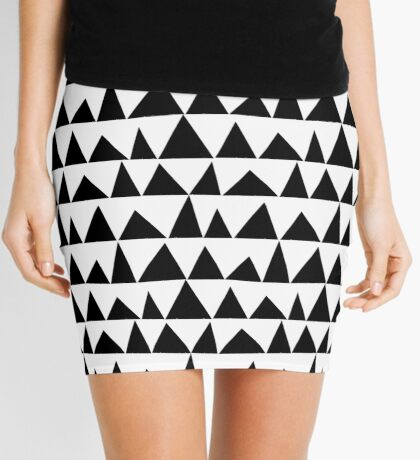 Playful triangles Mini Skirt