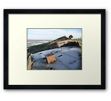 Purton hulk and frost Framed Print