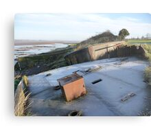 Purton hulk and frost Metal Print
