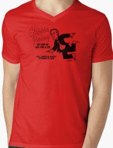 Slippin' Jimmy Mens V-Neck T-Shirt