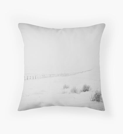 Did someone order a side dish of winter? Throw Pillow