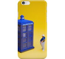 If I could turn back time! iPhone Case/Skin