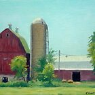 Big Red Barn by RickHansen