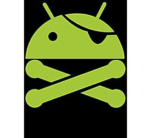 Android Pirate Photographic Print