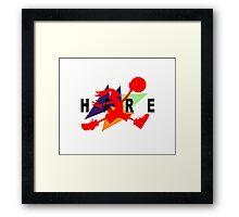 Hare Jordan Framed Print