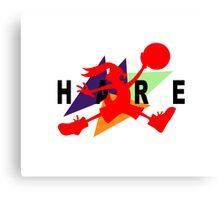 Hare Jordan Canvas Print