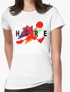 Hare Jordan Womens Fitted T-Shirt