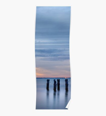 Old Jetty - Vertical Poster